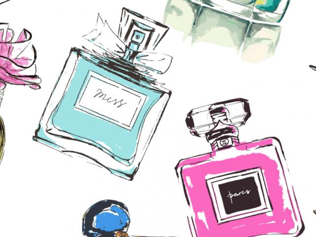 Shipping perfume