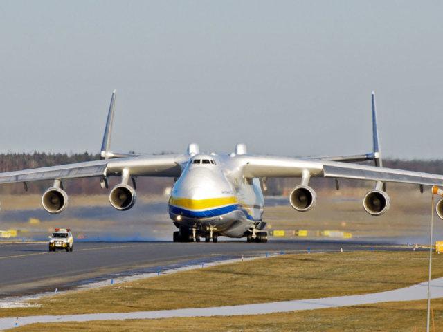 Largest aircraft in the world Antonov An-225 Mriya
