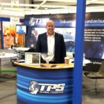 Barry manning the TPS Global Logistics stand at the NEC Spring Fair 2018
