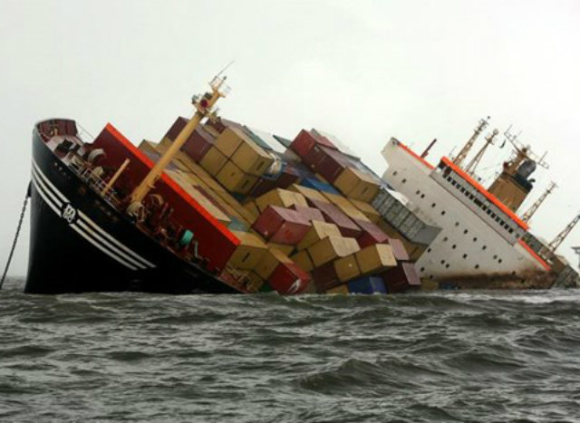 Shipping container sinks