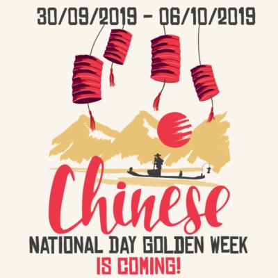 Chinese Golden Week celebrations