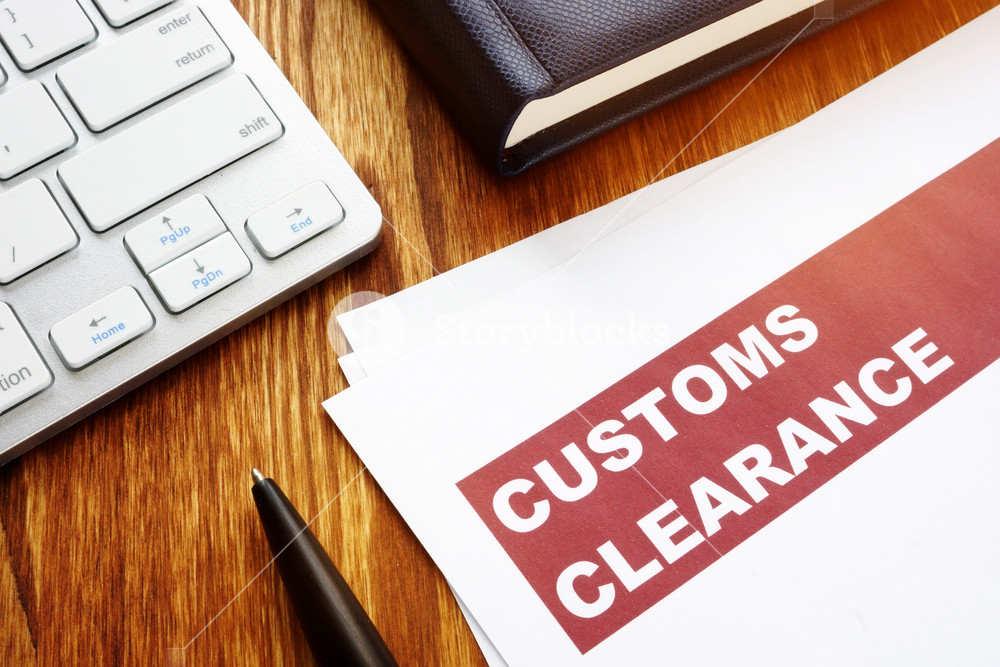 Customs clearance documents kent