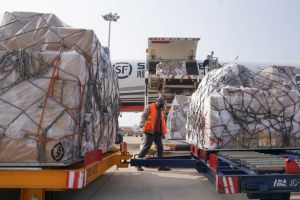 Air freight disruption