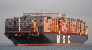 Largest container ship