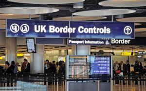 Import/export Border controls