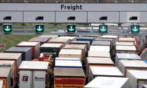 Kent lorry border crossing