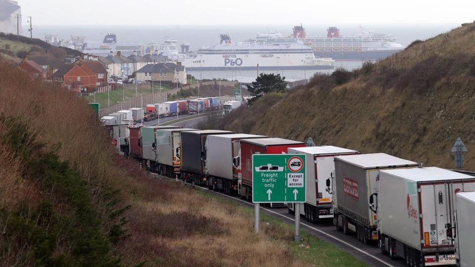 Kent lorry delays