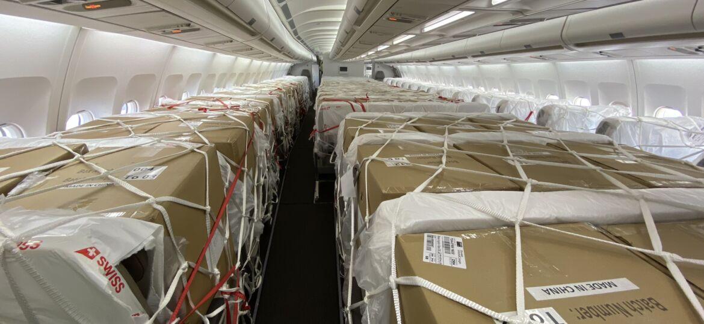 cargo in passenger planes